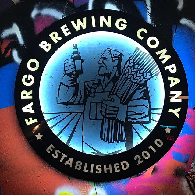 This place is a must if you ever visit Fargo. I'm not a beer drinker but their Kenny's Lemonade was delicious! #fargobrewingcompany #fargo #fargobrewing #craftbeer #familyvacation #shoplocal