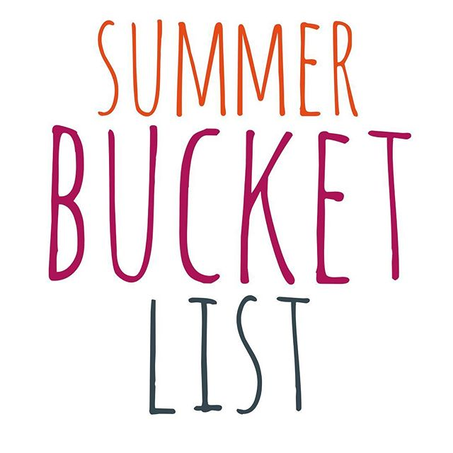 Does anyone else like to do summer bucket lists with your kids? Looking for ideas for ours! What do you plan on doing this summer? #summerbreak #summer #summerbucketlist #bucketlist #familyfun #summervacation