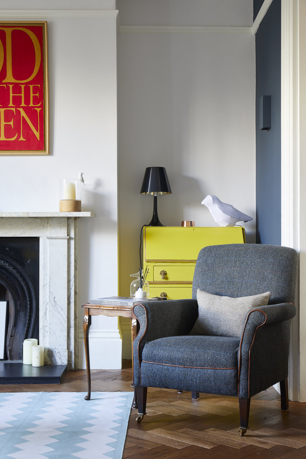 interior design in London town house