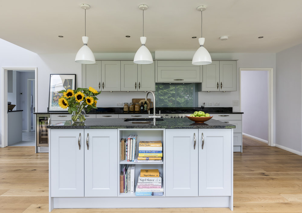 interior designed kitchen in oxford
