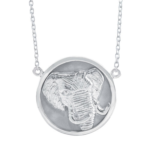 Sterling silver elephant pendant global guardian designs sterling silver elephant pendant aloadofball Image collections