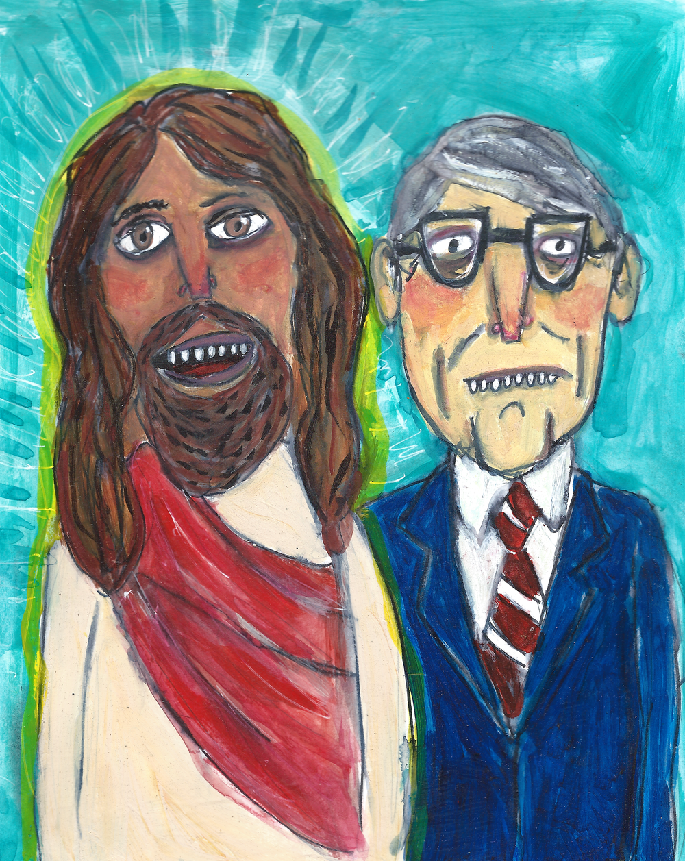 Jesus and His Lawyer