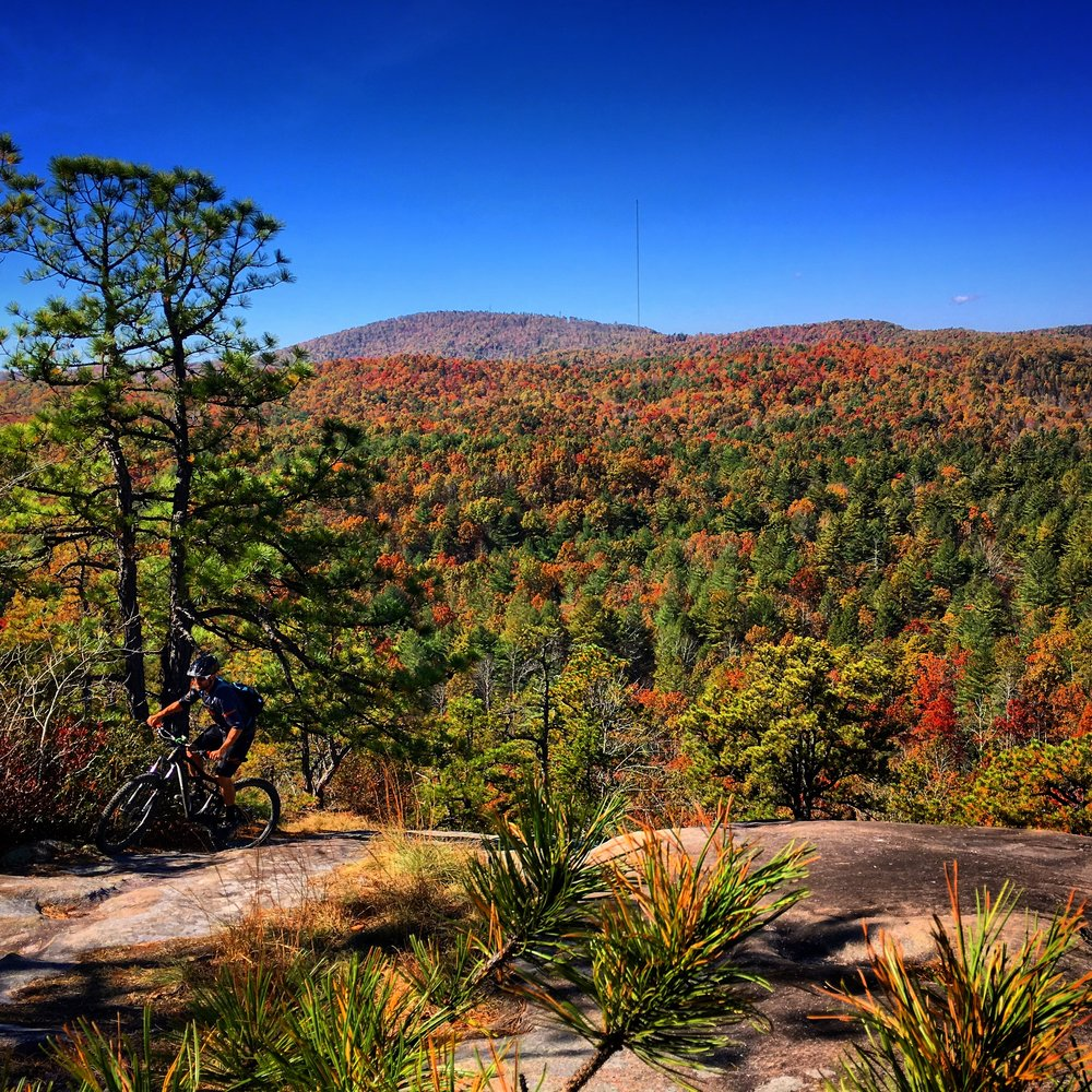 "Dupont's ""East Coast Slickrock"" + Fall Colors = An Awesome Ride"