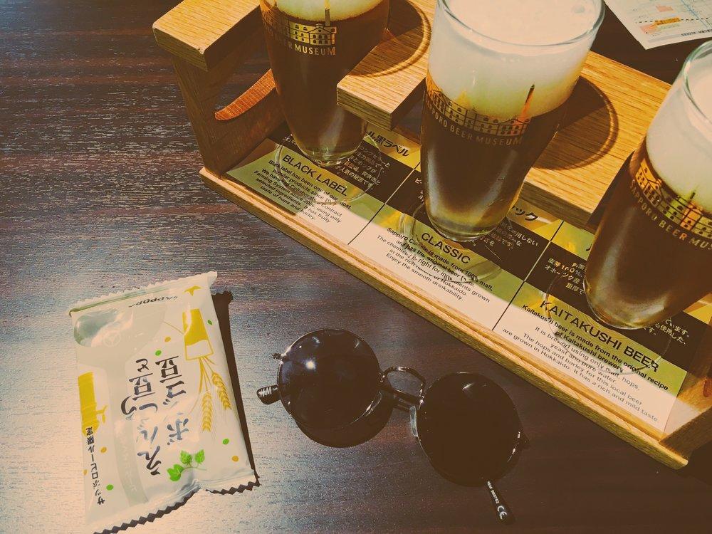 Sapporo Beer Tasting