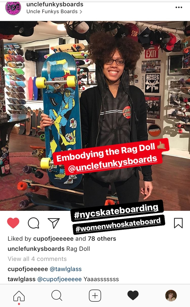 FINALLY made it onto @ unclefunkysboards  Insta! WOOOoo!