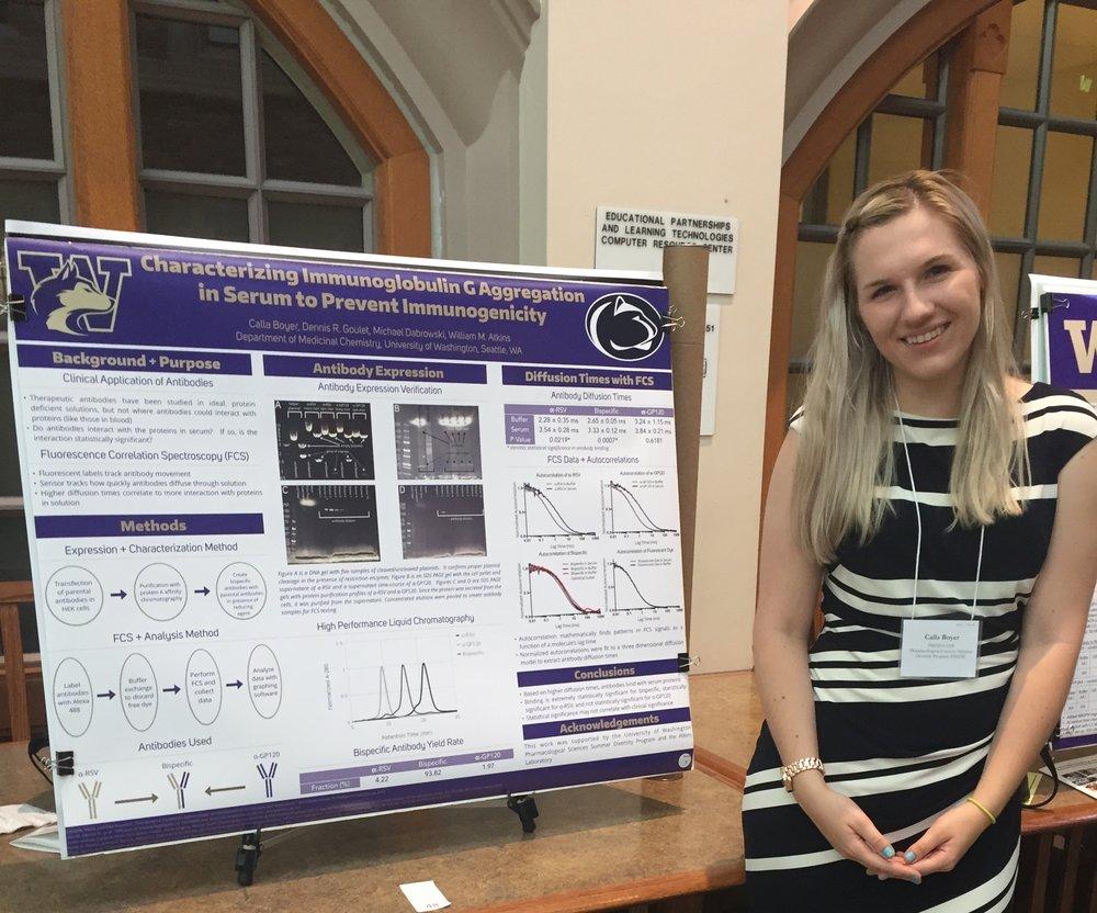 Calla Boyer's Engineering Presentation At Penn State University