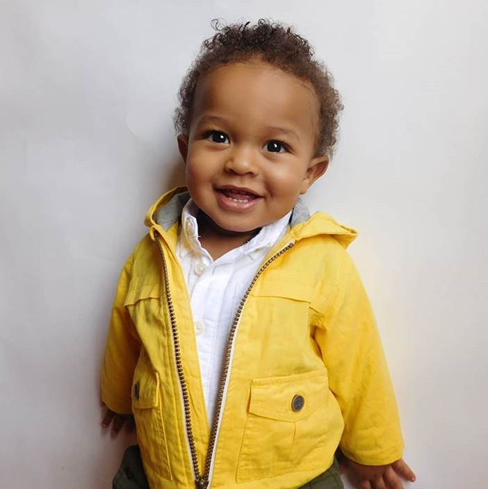 And he's a baby model! You can follow Zhen at @ zhen_orion .