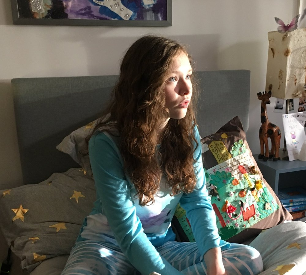 Zoe Margaret Colletti as Lucy in Lucy in the Sky