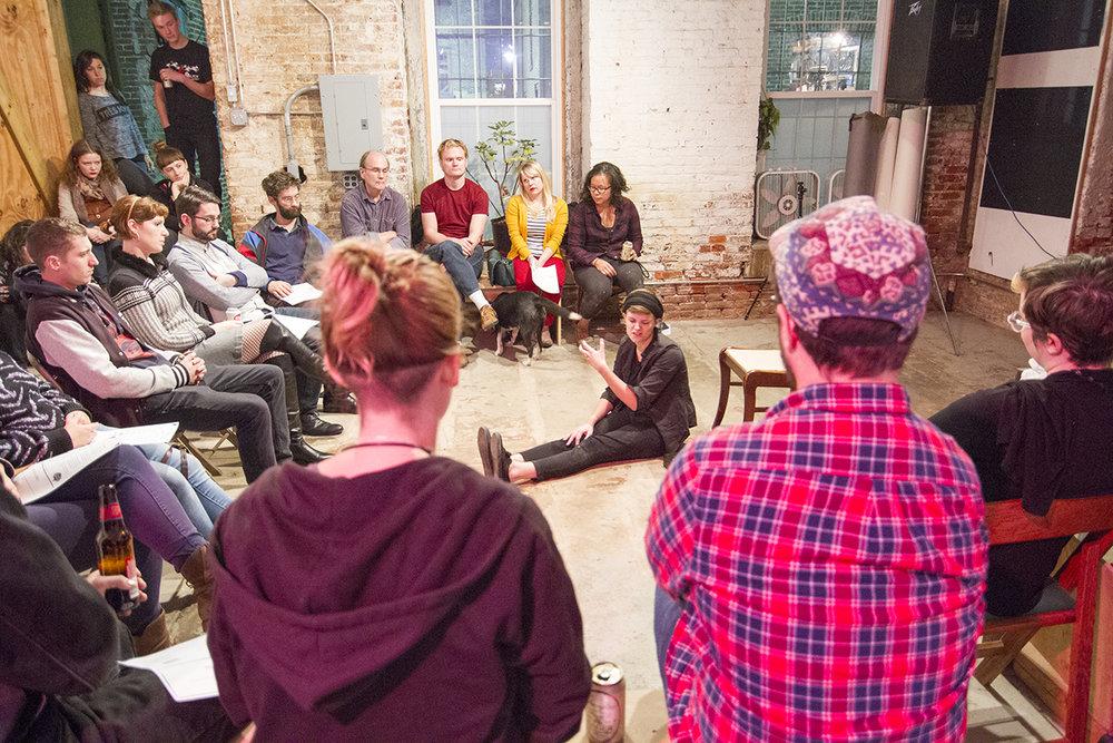 Kaycee Filson performs BODY Play at Praxis n.1, Philadelphia, PA