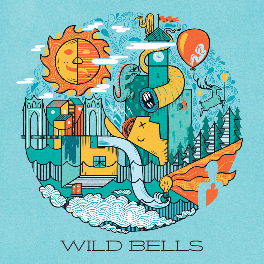 Wild Bells album artwork by Jolby.