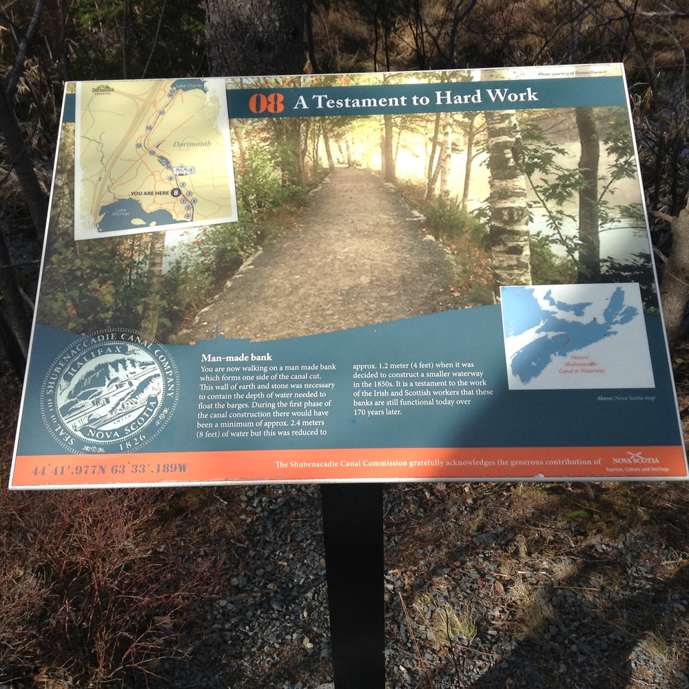 Shubie Park Interpretive Panel