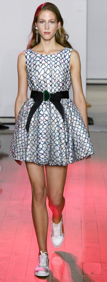 Despite my love for high heels, this was one of my favorite looks of the evening.