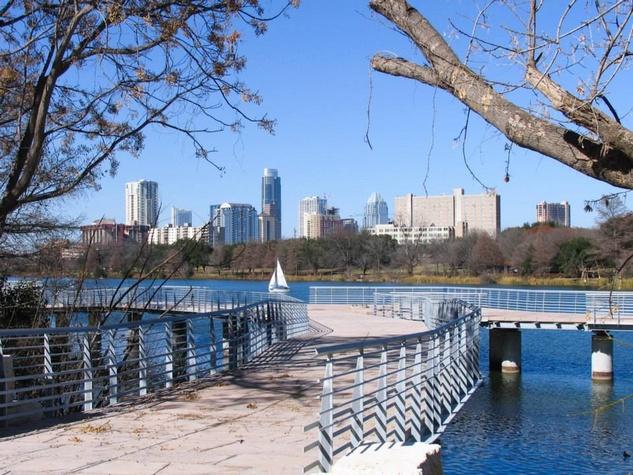 Lady Bird Lake, Austin, Texas.