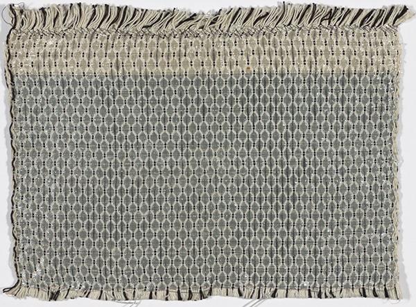 Gunta Stölzl, Textile Sample for Curtain , c. 1927. © 2017 Artists Rights Society (ARS), New York / VG Bild-Kunst, Bonn. Courtesy of The Museum of Modern Art, NY.