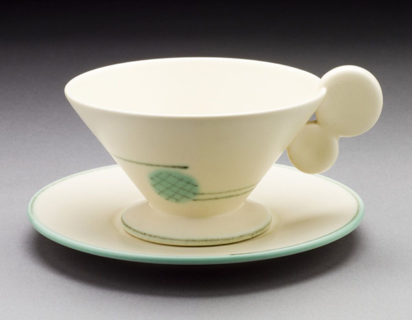 Margarete Heymann-Marks,  Kandinsky Inspired Teacup , 1929. Courtesy of The Ellen Palevsky Cup Collection, Gift of Max Palevsky. Courtesy of Los Angeles County Museum of Art.