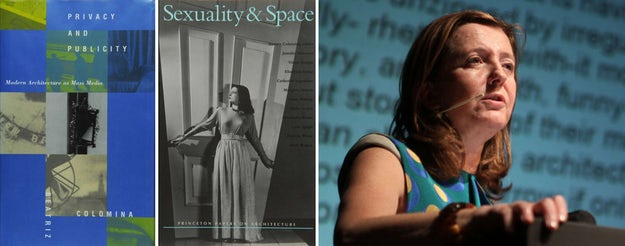 Left:   Privacy and Publicity ,  one of Beatriz Colomina's best-known critical works, and  Sexuality and Space ,an anthology of writings on architecture edited by Colomina; images via    Princeton University   and   Archinect