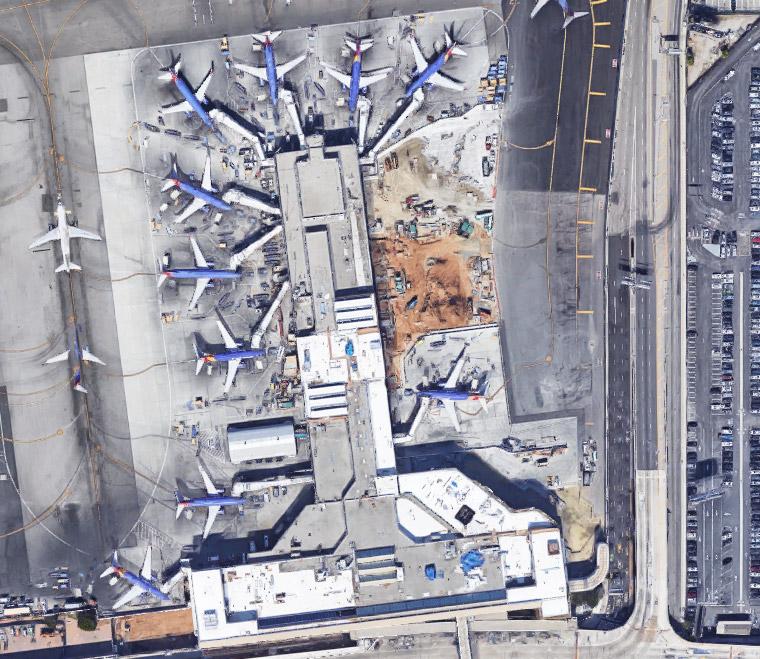 Norma Merrick Sklarek, Terminal One, Los Angeles International Airport