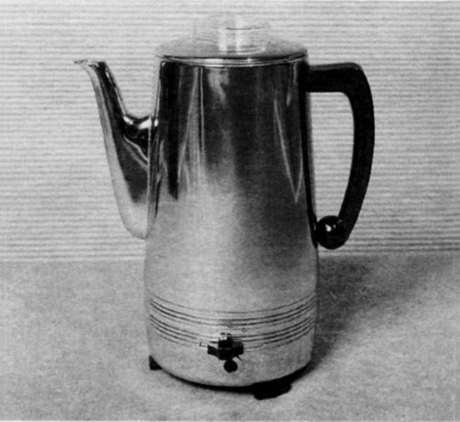 Ellen Manderfield, Automatic Coffee Maker, Montgomery Ward