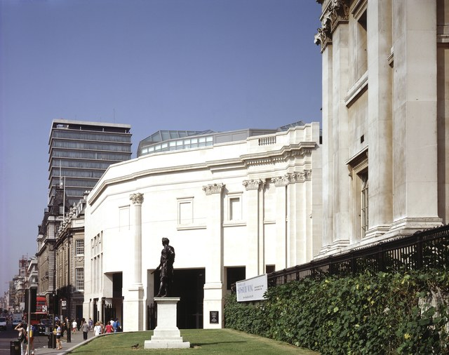 Denise Scott Brown & Robert Venturi, Addition to the London National Gallery