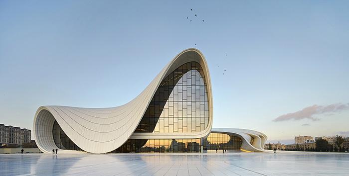 Zaha Hadid, Heydar Aliyev Center Baku