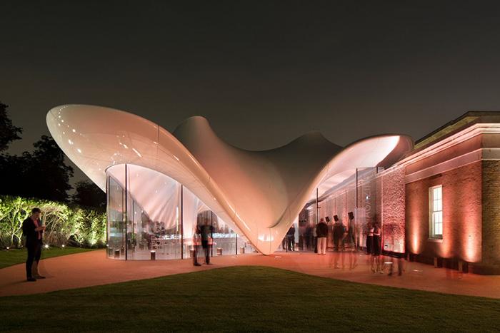Zaha Hadid, Serpentine Sackler Gallery London