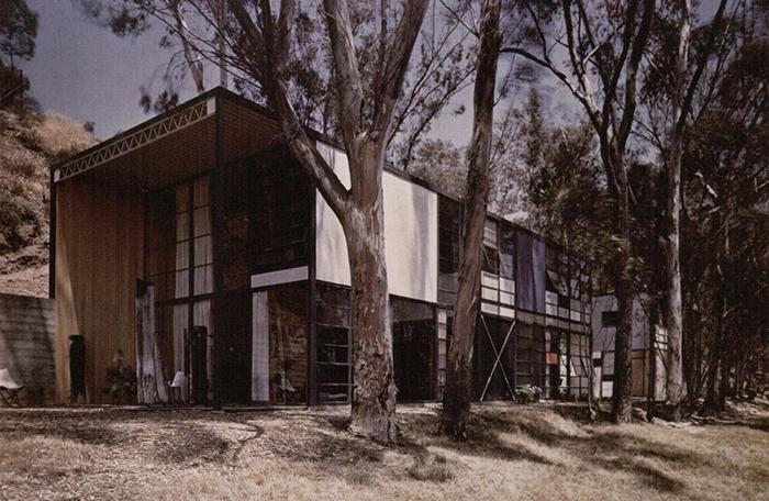 Ray Eames, Charles Eames, Eero Saarinen, Eames House