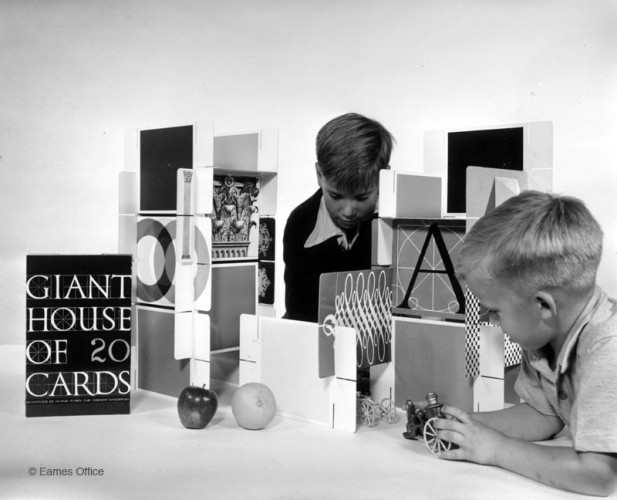 Ray Eames, Charles Eames, Giant House of Cards