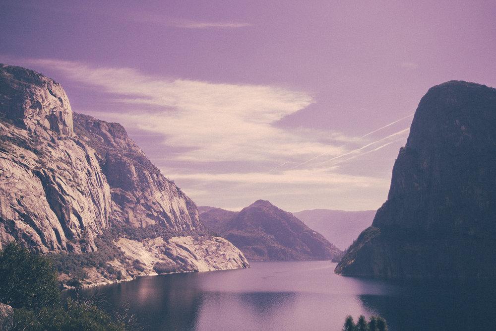 Kolana Rock and the Hetch Hetchy Reservoir