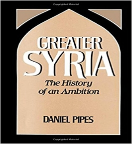 Daniel  P ipes,  Greater Syria: The History of an Ambition  (Oxford University Press, 1992) 64-67.   BAX1920-5