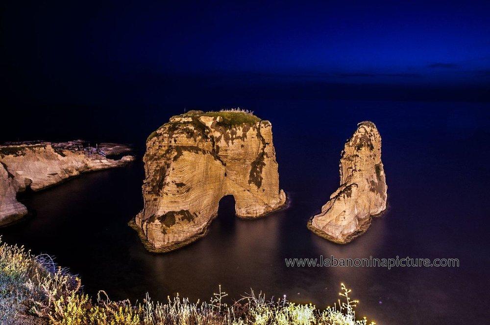 Pigeon Rocks, Raouche, Ras Beirut, Beirut.jpg