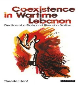 Theodor  H anf, Coexistence in Wartime Lebanon: Decline of a State and Rise of a Nation (Centre for Lebanese Studies & I.B. Tauris, 1993) 424.   BAX1930-3