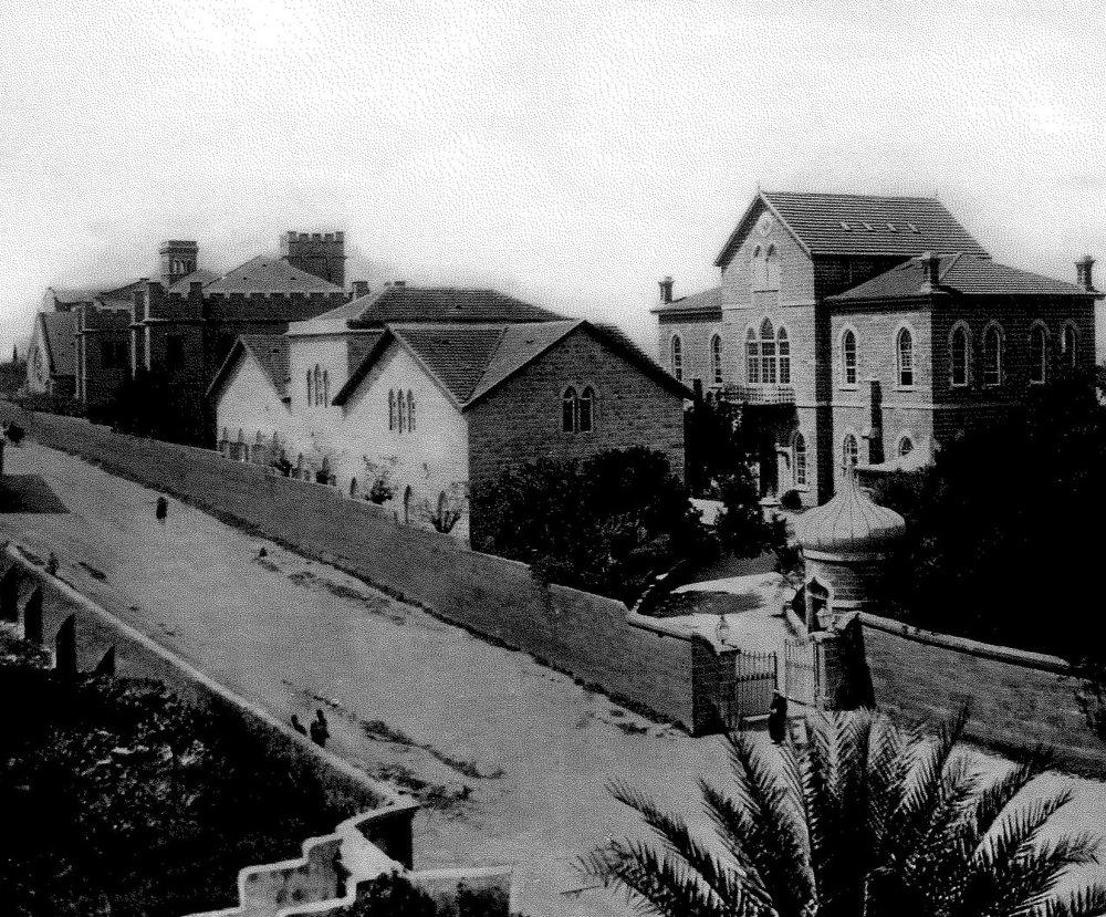 Bliss Street, Ras Beirut clear view 1900.jpg