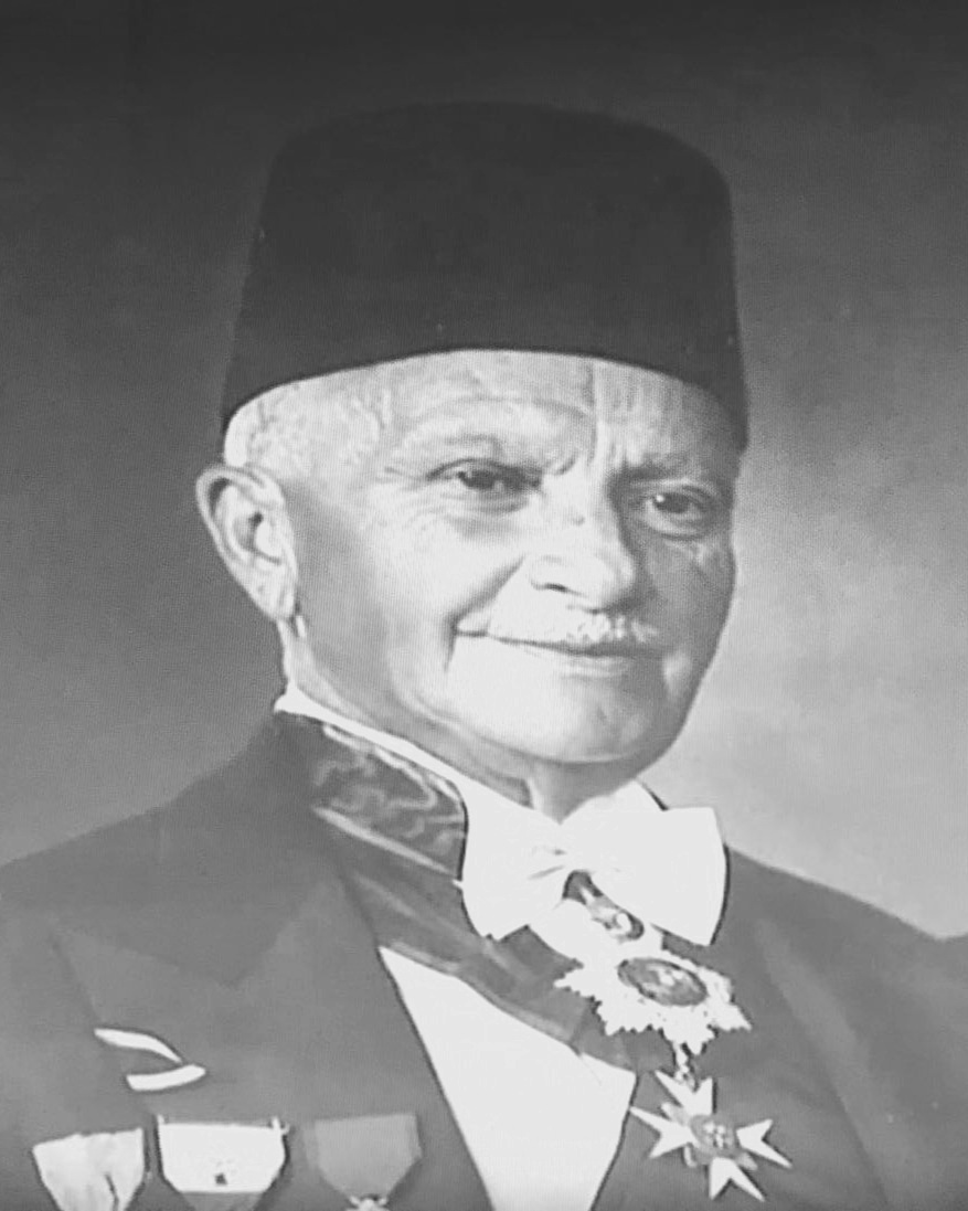 A Portrait of Omar Daouk at the Daouk Residence of Qoraitem.