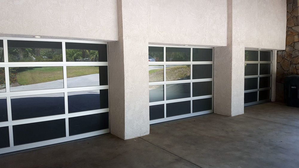 Aluminum & Glass Garage Door