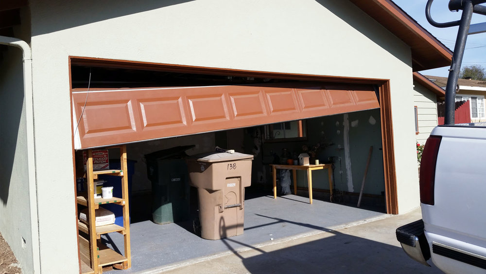 Common Repair Services. Garage Door Off Track