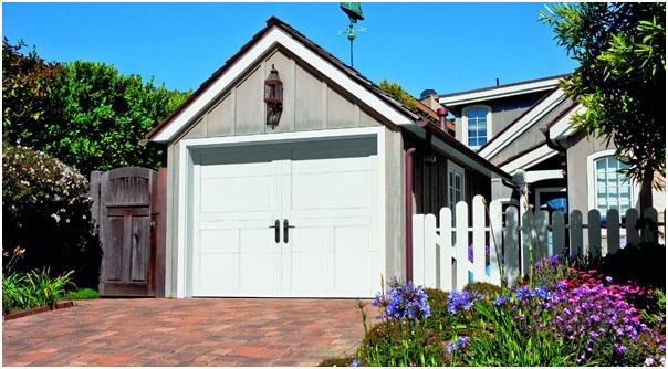 Recessed Panel Steel Garage Door