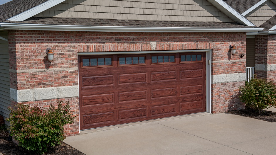 Charming WOODTONE GARAGE DOOR