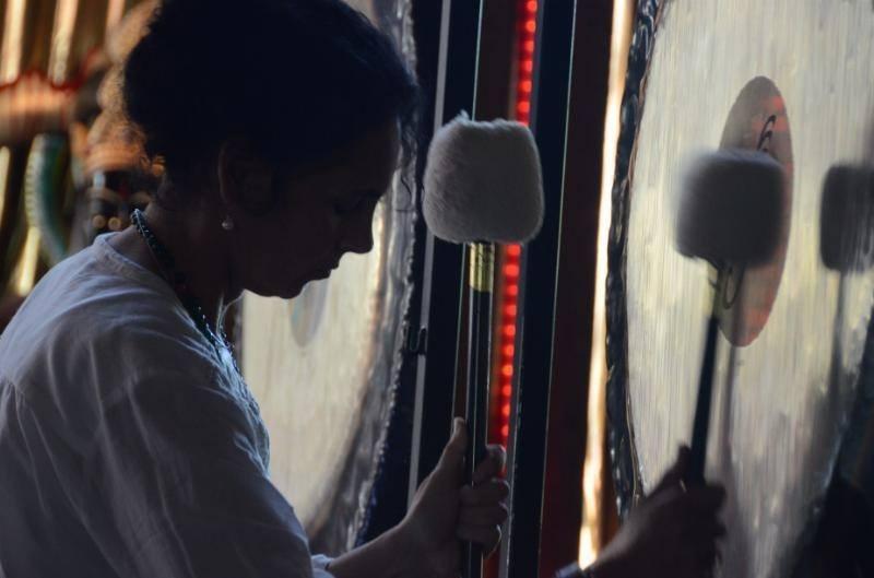 Sound Healer & Gong Master Alicia Villamarin