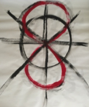 Symbol of Extraordinary Vessels as 8 directions & dynamic circulation of figure 8 infinity sign.