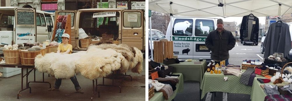 Farmers' Markets have been at the existence of WoodsEdge since 1976. Brent helped his parents vend at the Green Market in Union Square at the early age of 6. Over 30 years later, he continues the family tradition of bringing his farming products to the people.