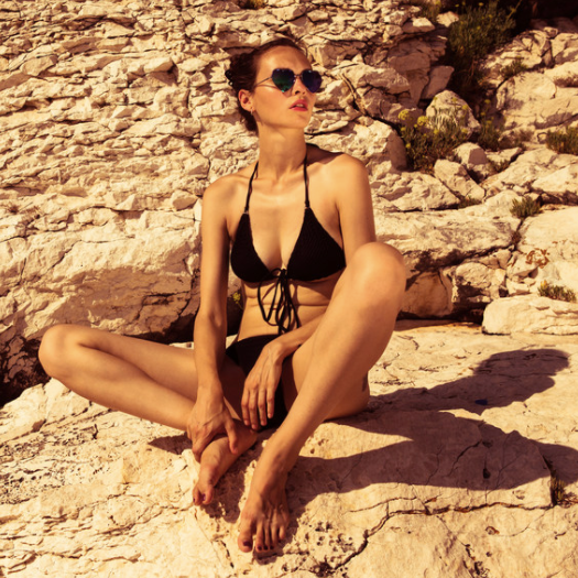 AURIA   // UK    Conscious innovation meets playful style. Made to flatter the modern woman in the sea and on land (read: beach).