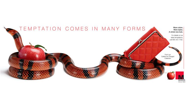 Mundo Snake Red Temptation
