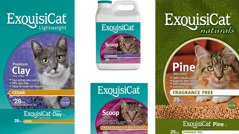 Exquisicat Packaging