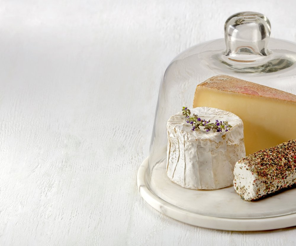 Cheese under Glass Dome