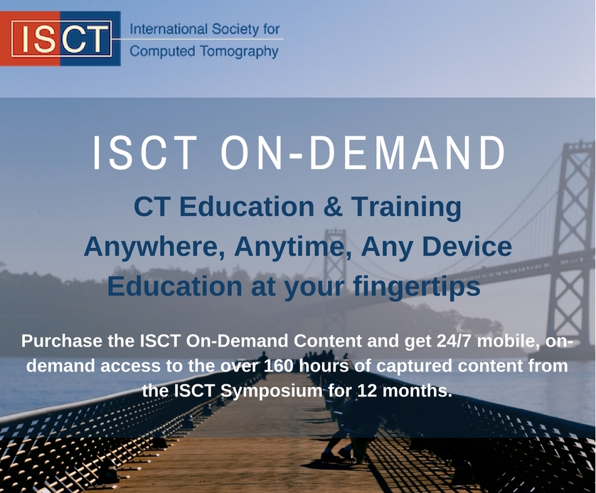 ISCT's education on demand