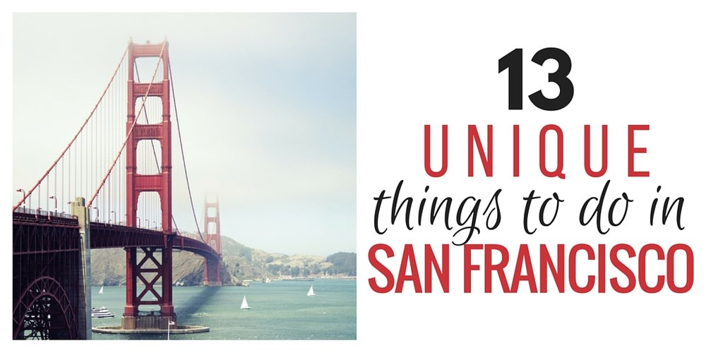 things to do in san francisco (other than ISCT's ct symposium)