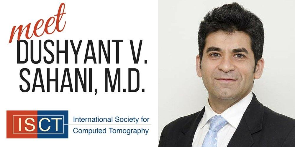 Dr. Dushyant Sahani at ISCT's ct symposium