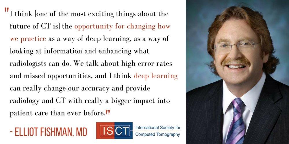 Elliot Fishman discusses the future of radiology