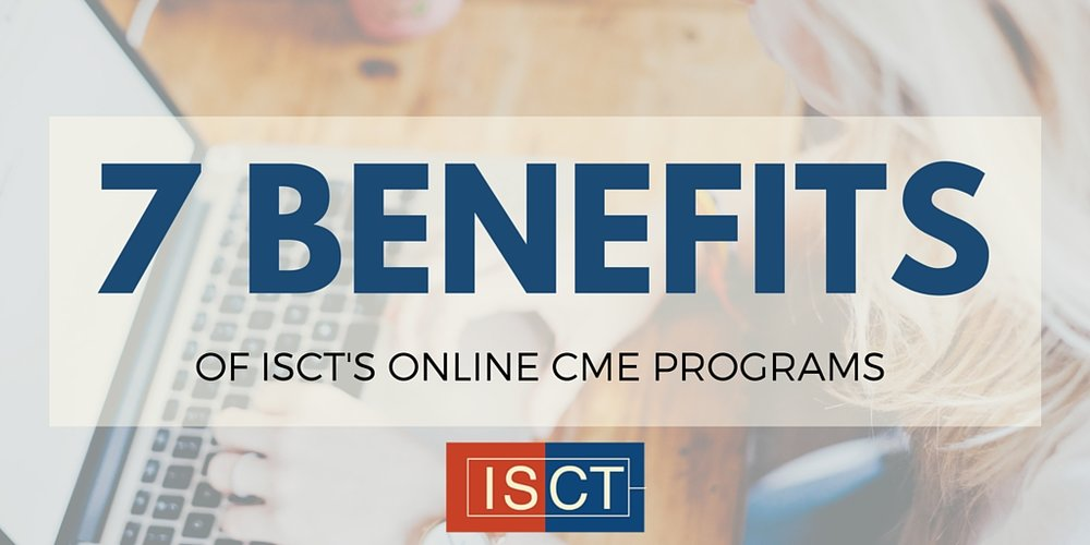 7 benefits of ISCT's radiology CME