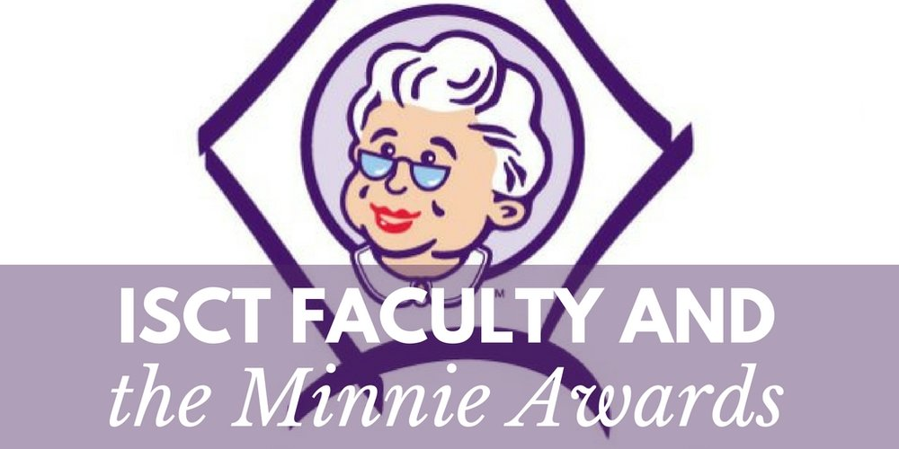 ISCT faculty and the aunt minnie awards